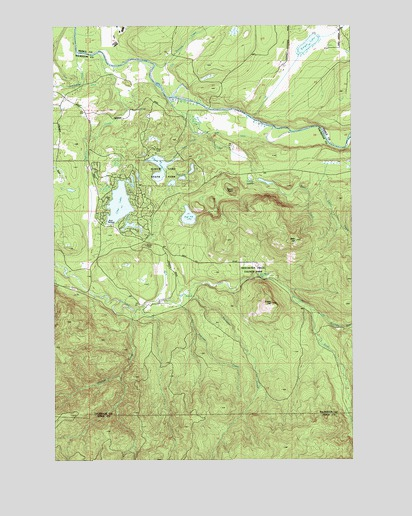 Bald Hill, WA USGS Topographic Map