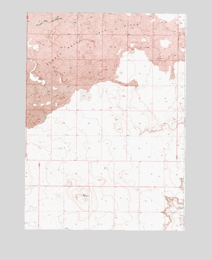 Iron Mountain, OR USGS Topographic Map