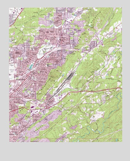 Irondale, AL USGS Topographic Map