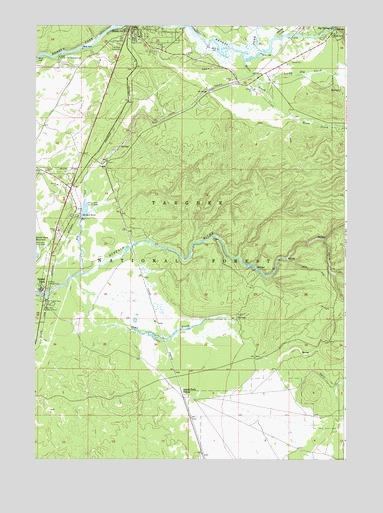 Island Park, ID Topographic Map - TopoQuest