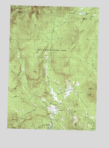 Jackson, NH USGS Topographic Map