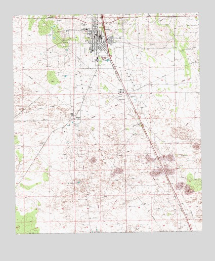 Jal New Mexico Map.Jal Nm Topographic Map Topoquest