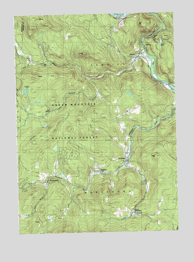 Jamaica, VT Topographic Map - TopoQuest