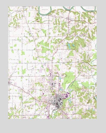 Jasper In Topographic Map Topoquest