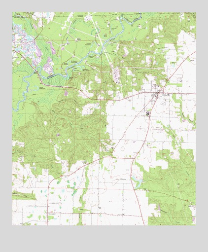 Jay Fl Topographic Map Topoquest