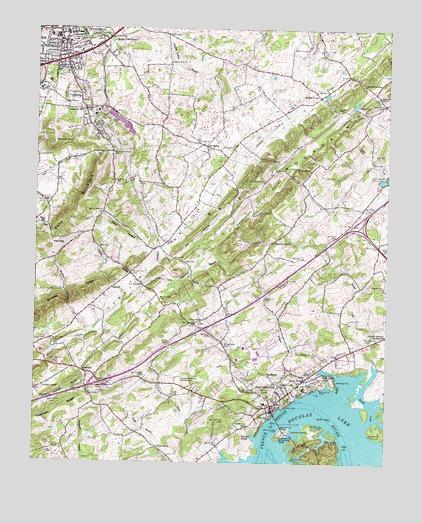 Jefferson City, TN Topographic Map - TopoQuest