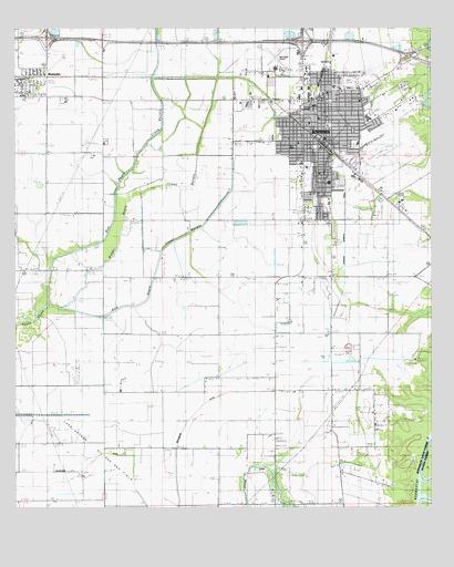 map of jennings louisiana Jennings La Topographic Map Topoquest map of jennings louisiana