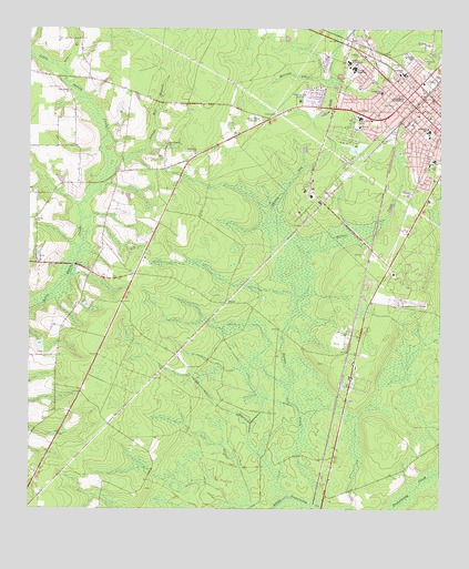 Map Of Jesup Georgia.Jesup West Ga Topographic Map Topoquest