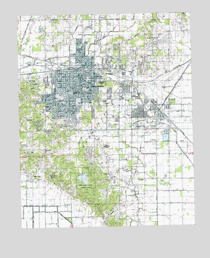 Jonesboro, AR Topographic Map - TopoQuest