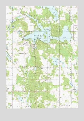 Balsam Lake Wi Topographic Map Topoquest