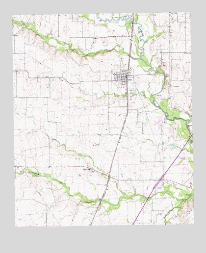 Map Of Justin Texas.Justin Tx Topographic Map Topoquest