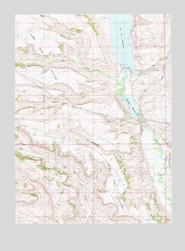 Kemmerer Wyoming Map.Kemmerer Reservoir Wy Topographic Map Topoquest
