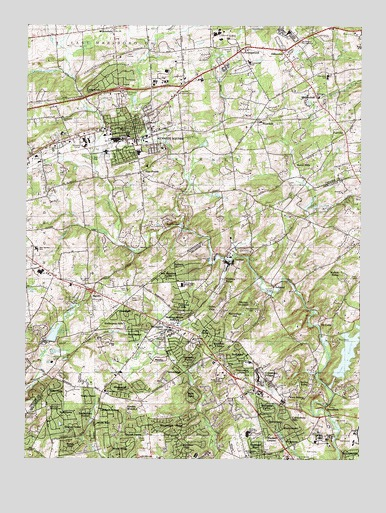 Kennett Square, PA USGS Topographic Map