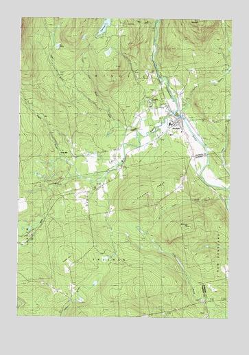 Kingfield Maine Map.Kingfield Me Topographic Map Topoquest