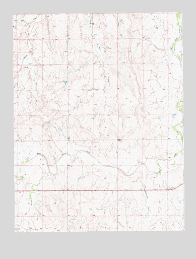 Kuhns Crossing, CO USGS Topographic Map