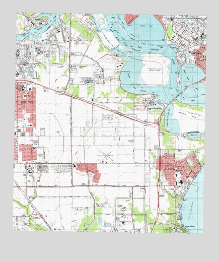 La porte tx topographic map topoquest for Where is laporte texas