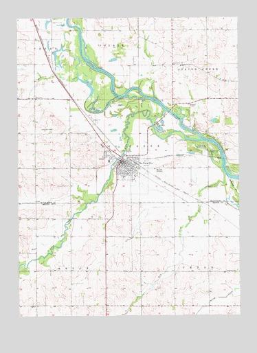 La porte city ia topographic map topoquest for La porte city