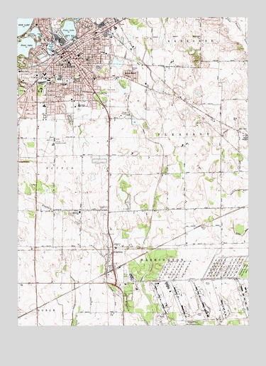 Laporte East In Topographic Map Topoquest