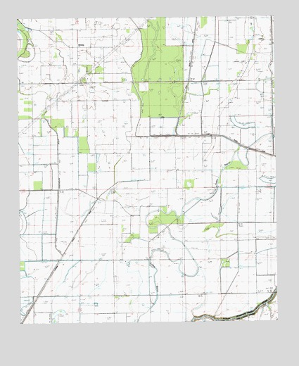 Laark, LA USGS Topographic Map