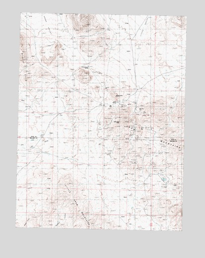 Lady Laird Peak, UT USGS Topographic Map