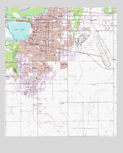 Lake Charles, LA Topographic Map - TopoQuest on lake martin on the us map, lake martin totem pole, lake martin weather, martin lake fishing map, lake martin history, logan martin lake map, lake martin area map, lake martin alabama, martin creek lake texas map, lake martin home, martin creek lake state park map,