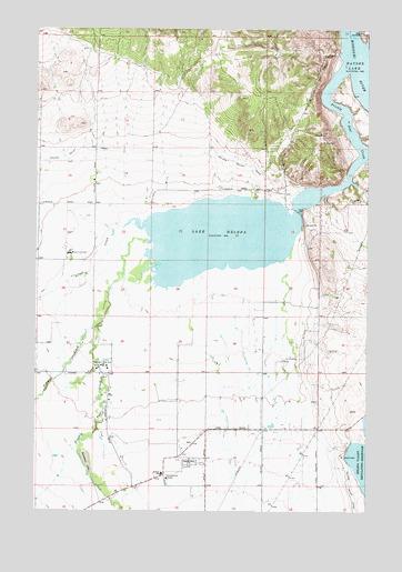 Lake Helena, MT Topographic Map - TopoQuest