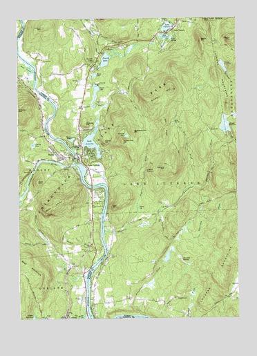 lake luzerne ny map Lake Luzerne Ny Topographic Map Topoquest lake luzerne ny map