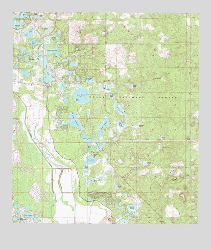 Map Of Lake Mary Florida.Lake Mary Fl Topographic Map Topoquest