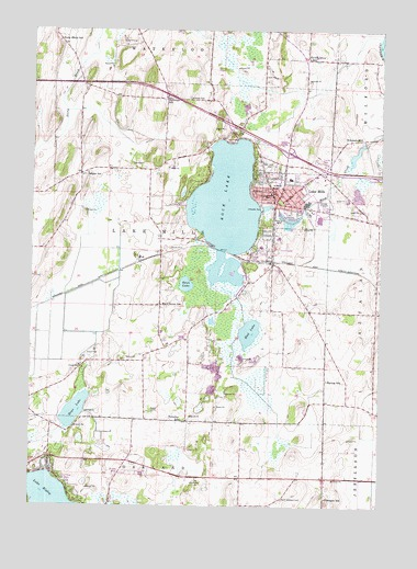 Lake Mills WI Topographic Map TopoQuest - Wisconsin topographic lake maps