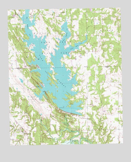 lake murray topographic map Lake Murray Ok Topographic Map Topoquest lake murray topographic map