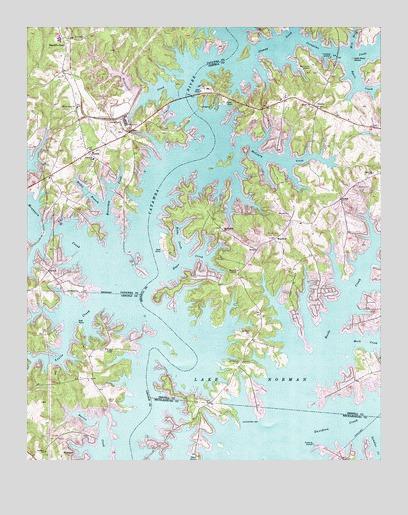Lake Norman North Nc Topographic Map Topoquest