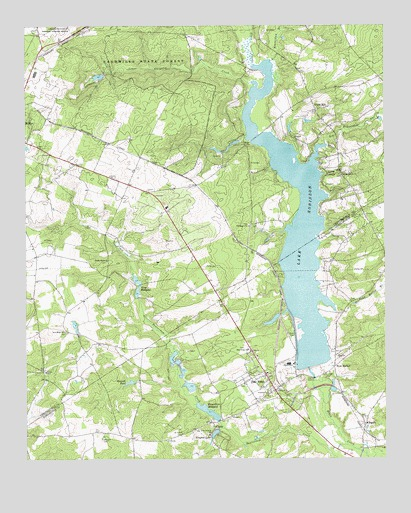 Lake Robinson, SC USGS Topographic Map