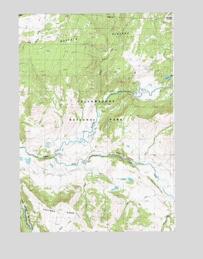 Lamar Canyon, WY Topographic Map - TopoQuest