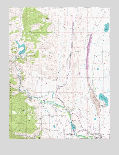 Laporte co topographic map topoquest for Laporte colorado
