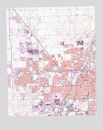 Las Vegas NW NV Topographic Map  TopoQuest
