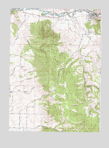 Lava Hot Springs Id Topographic Map Topoquest