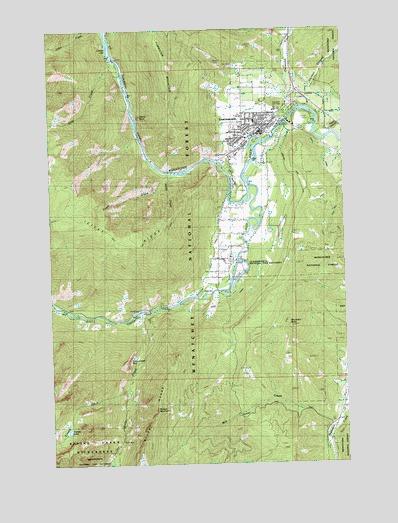 Leavenworth, WA Topographic Map - TopoQuest