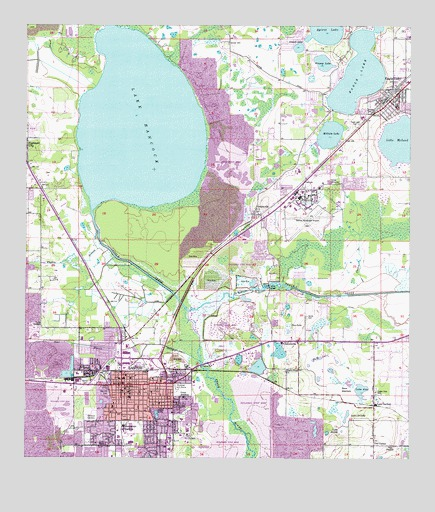 Topographic Map Of Florida.Bartow Fl Topographic Map Topoquest