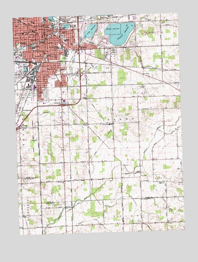 lima oh topographic map topoquest