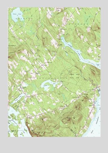 Lincolnville Me Topographic Map Topoquest