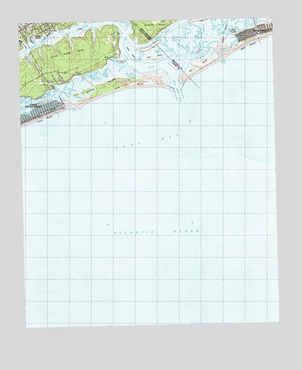 Little River, SC USGS Topographic Map