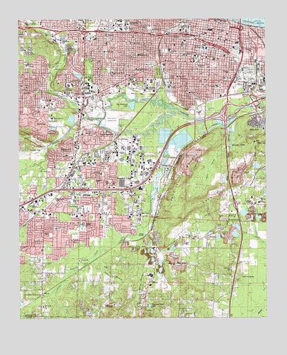 Little Rock, AR Topographic Map - TopoQuest