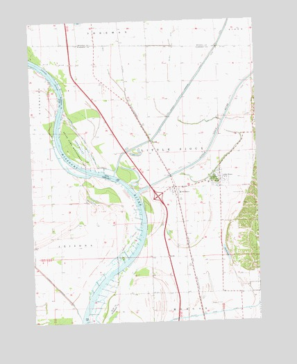 Little Sioux, IA USGS Topographic Map