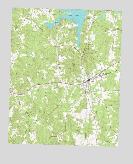 Littleton Nc Topographic Map Topoquest