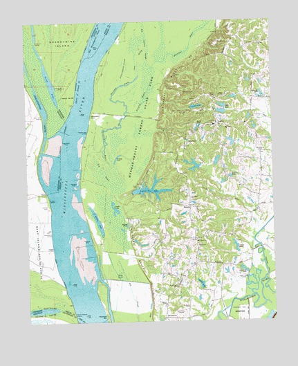 Locke, TN USGS Topographic Map