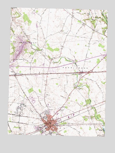 Topographic Map London.London Oh Topographic Map Topoquest