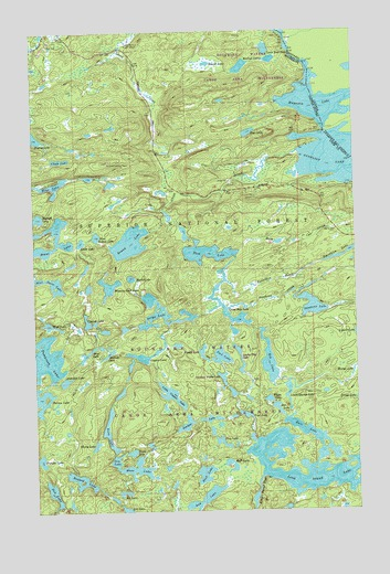 Topographic Map Long Island.Long Island Lake Mn Topographic Map Topoquest