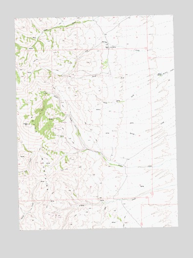 Loomis Mountain, NV USGS Topographic Map