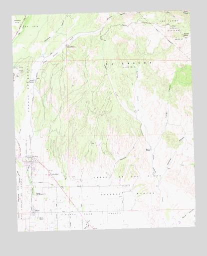 Los Olivos, CA Topographic Map - TopoQuest on