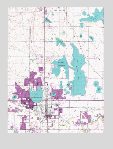 Loveland, CO Topographic Map - TopoQuest